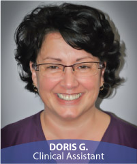 Doris G., Clinical Assistant
